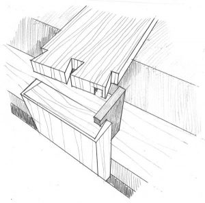 Martha Garstang Hill's rough sketch for Travis Knapp's winning trick in the October 2016 issue.
