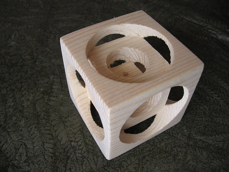 Wood Lathe Magic Pine Cube Popular Woodworking Magazine