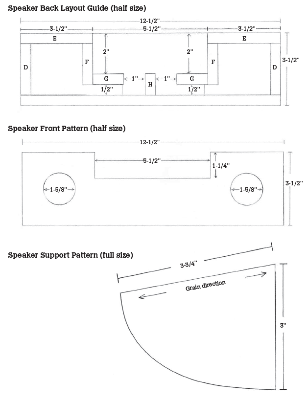 Passive Speaker Patterns
