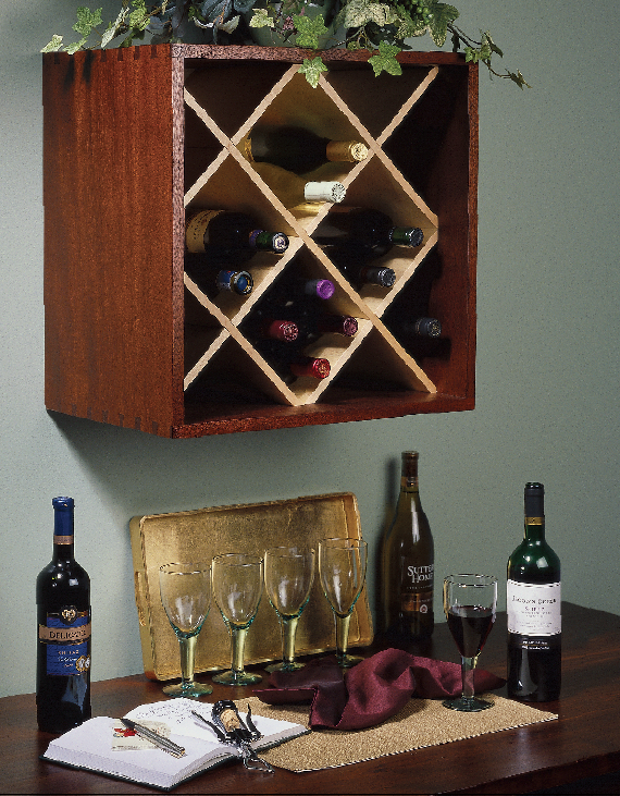 French Cleat Wine Rack