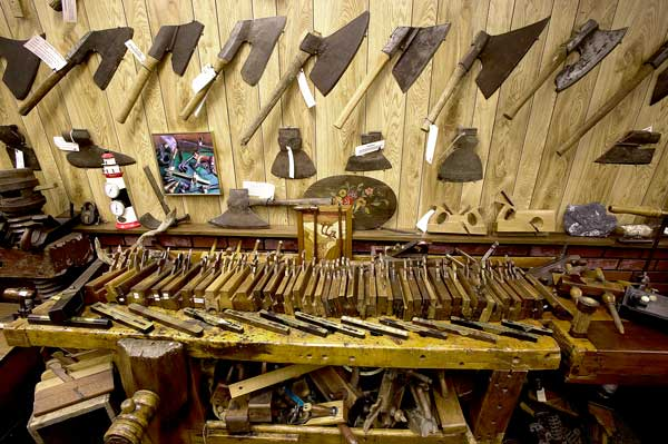 Culling His Tool Collection At Auction
