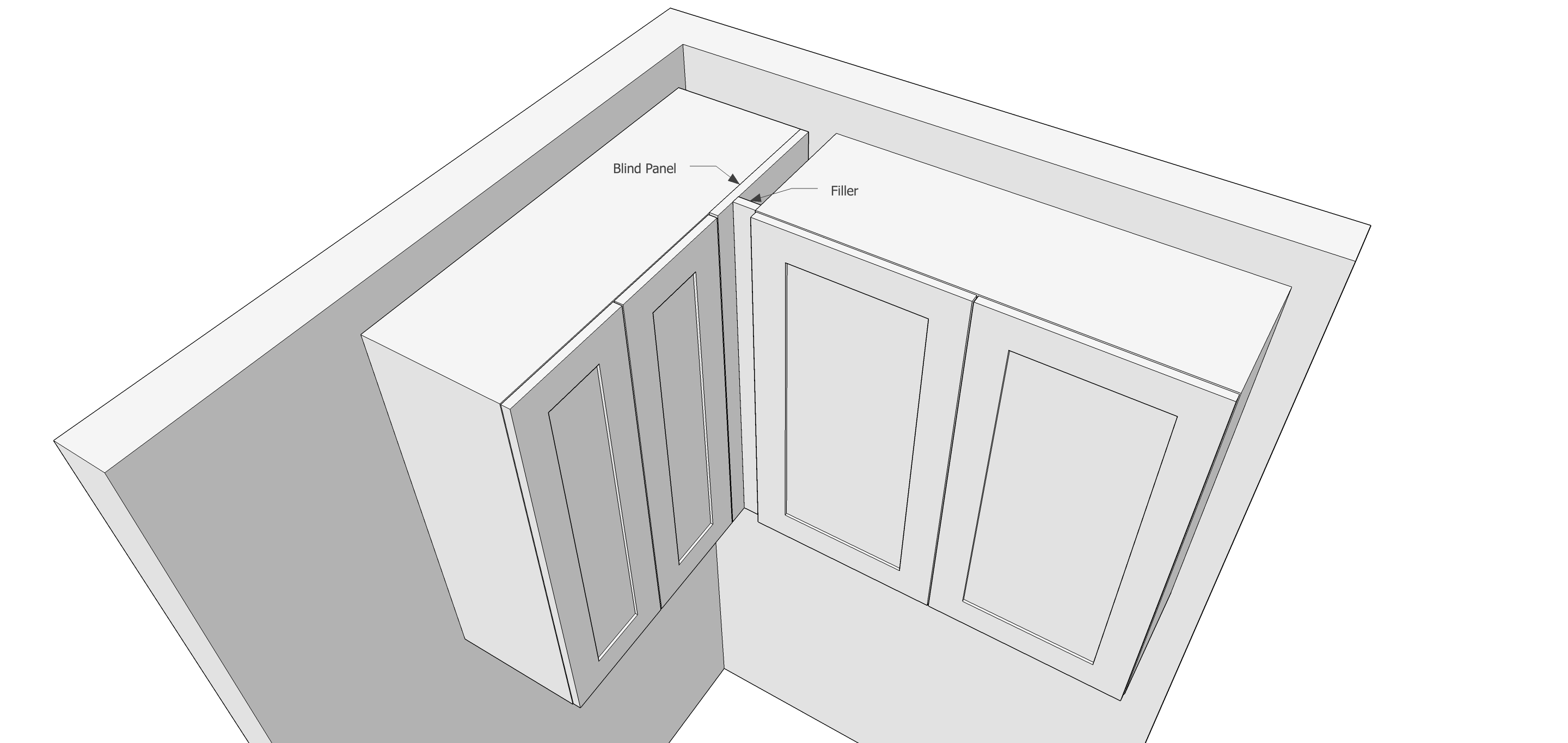 Using Fillers When Designing Kitchen Cabinets Popular Woodworking Magazine
