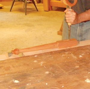 Wooden Tail Vise_clamp work