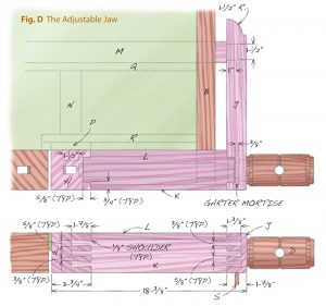 Wooden Tail Vise_fig d