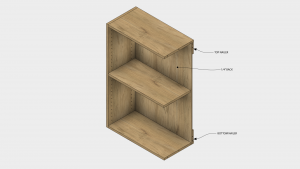 """Build frameless cabinets with 1/4"""" backs and nailers."""