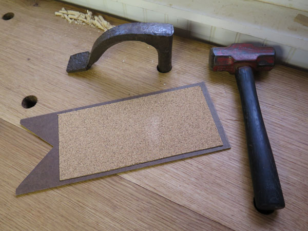 adhesive-backed cork contact paper