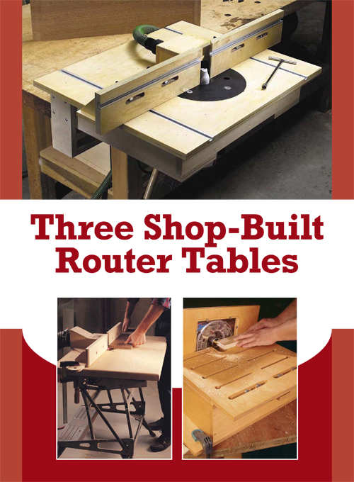 Learn how to make your own router table with this free tutorial from PopularWoodworking.com!