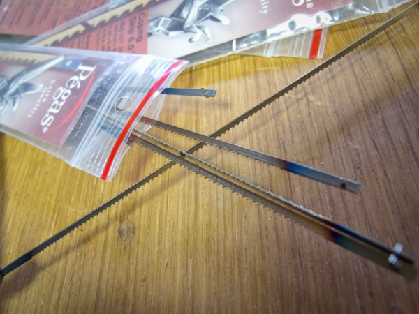 Pégas Coping Saw Blades