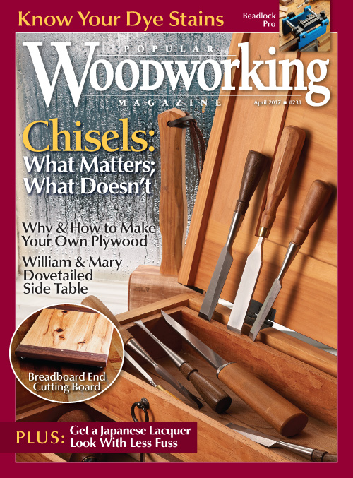 Popular Woodworking April 2017
