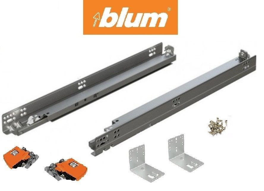 Sizing parts for drawers on Blum Tandem slides