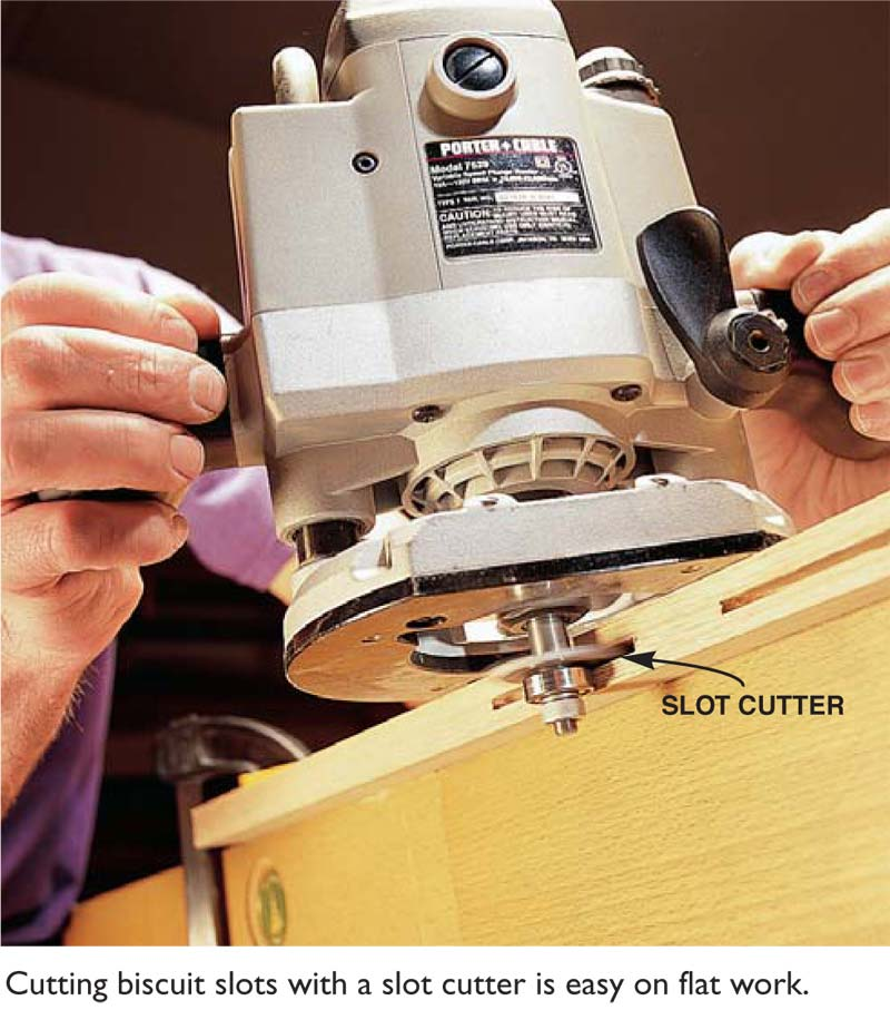 Q A Slot Cutter Vs Plate Joiner Popular Woodworking Magazine