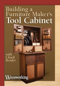 Furniture Maker's Tool Cabinet DVD cover