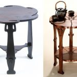 Rohlf and Stickley floriform tables