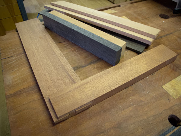 wooden try squares