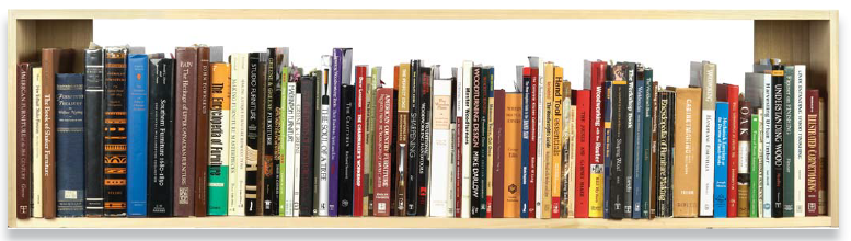 Learn how to build a library (the wood kind) while building your library (the paper kind).