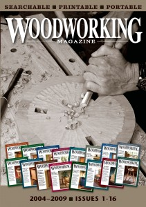 """Woodworking Magazine"" 2004-2009 CD (Includes all 16 issues of this short-lived, but excellent, magazine)"